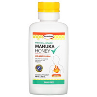 Manuka Honey, Medical Grade, Natural Lemon Peach, 6.8 oz (200 ml) - фото