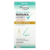 Manuka Honey, Medical Grade  Extra Strength Nasal Spray, 0.65 fl oz ( 20 ml) - фото