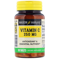 Vitamin C, 250 mg, 100 Tablets - фото