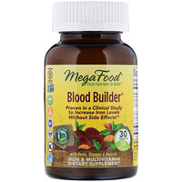 Blood Builder, Iron & Multivitamin Supplement, 30 Tablets - фото