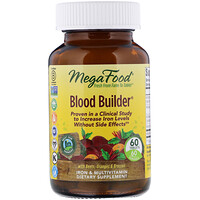 Blood Builder, Iron & Multivitamin Supplement, 60 Tablets - фото