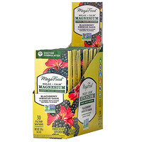 Relax + Calm Magnesium, Blackberry Hibiscus Oasis, 30 Single Serve Packets, 4.2 oz (120 g) - фото
