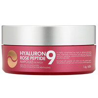 Hyaluron Peptide 9, Ampoule Eye Patch, Rose, 60 Patches - фото