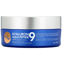 Hyaluron Peptide 9, Ampoule Eye Patch, Aqua, 60 Patches - фото
