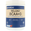 MRM, RELOAD BCAA+G, Post-Workout Recovery, Watermelon, 29.6 oz (840 g)