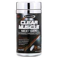 Clear Muscle Next Gen, Performance & Recovery Amplifier, 1000 mg , 84 Liquid Softgels - фото
