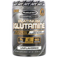 Essential Series, Platinum 100% Glutamine, 5 g, 10.58 oz (300 g) - фото