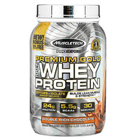 ProSeries, Premium Gold 100% Whey Protein, Double Rich Chocolate, 2.23 lb (1.01 kg) - фото