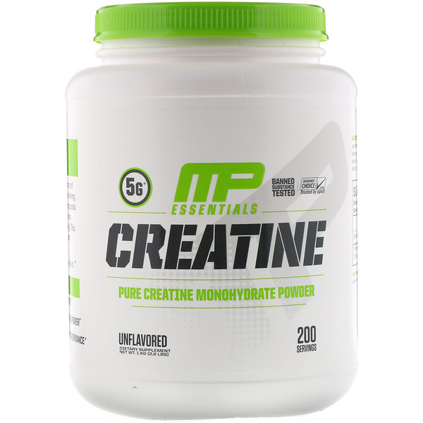 Creatine, Unflavored, 2.2 lbs (1 kg)