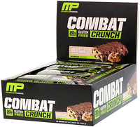 Combat Crunch, Chocolate Chip Cookie Dough, 12 Bars,  26.67 oz (756 g) - фото