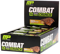 Combat Crunch, Chocolate Peanut Butter Cup, 12 Bars - фото