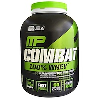 Combat 100% Whey Protein, Baunilha, 5 lbs (2269 g) - фото