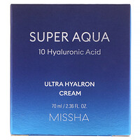 Super Aqua, Ultra Hyalron Cream, 2.36 fl oz (70 ml) - фото