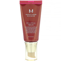 M Perfect Cover B.B Cream, SPF 42 PA+++, No. 23 Natural Beige, 1.7 oz (50 ml) - фото