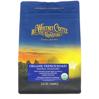 Organic French Roast, Dark Roast, Ground Coffee, 12 oz (340 g) - фото