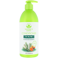 Tea Tree + Sea Buckthorn Conditioner, For Oily Hair, 18 fl oz (532 ml) - фото