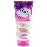 Hair Remover Cream, Nourish, Skin Renewal With Grape Seed Oil For Legs & Body, 7.9 oz (224 g) - фото