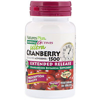 Herbal Actives, Ultra Cranberry 1500, 1,500 mcg, 30 Vegetarian Tablets - фото