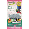 Nature's Plus, Source of Life, Animal Parade, Children's Chewable Multi-Vitamin and Mineral Supplement, Natural Watermelon Flavor, 180 Animal-Shaped Tablets
