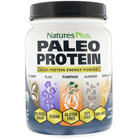 Paleo Protein, High Protein Energy Powder, Unflavored and Unsweetened, 1.49 lbs (675 g) - фото