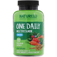 One Daily Multivitamin for Men, 120 Vegetarian Capsules - фото