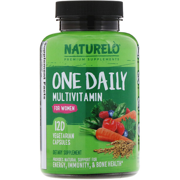 One Daily Multivitamin for Women, 120 Vegetarian Capsules