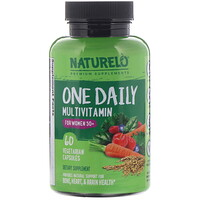 One Daily Multivitamin for Women 50+, 60 Vegetarian Capsules - фото