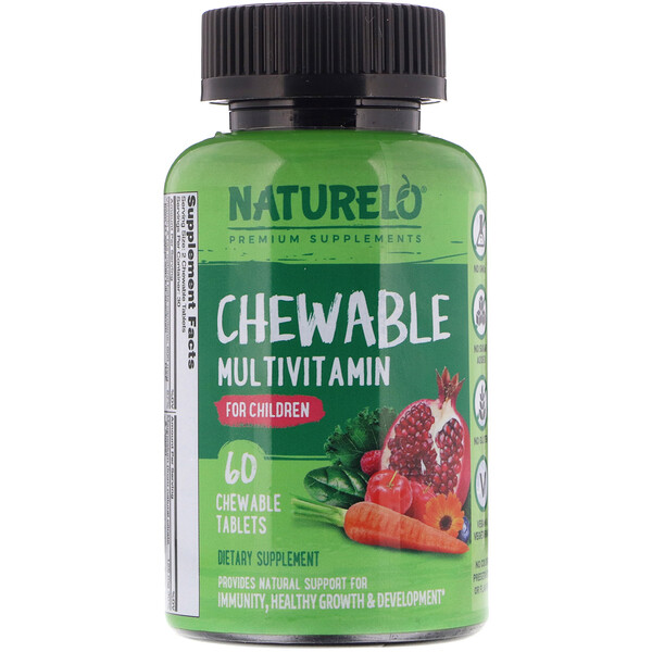 Chewable Multivitamin for Children, 60 Chewable Tablets
