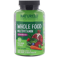 Whole Food Multivitamin for Women 50+, 120 Vegetarian Capsules - фото