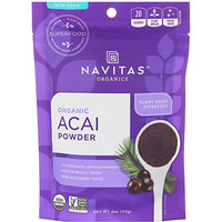 Organics Acai Powder, 4 oz (113 g) - фото