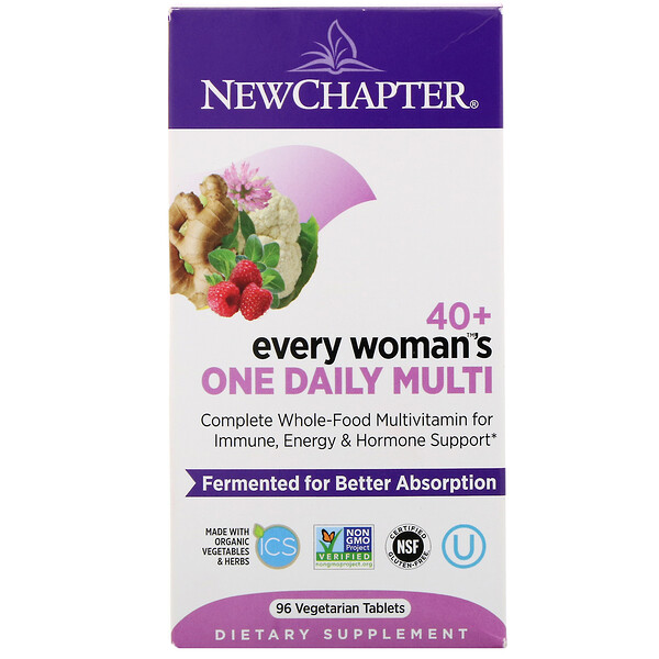 40+ Every Woman's One Daily Multi, 96 вегетарианских таблеток