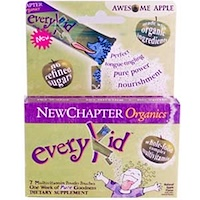 Organics, EveryKid, Awesome Apple Flavor, 7 Pouches (3.5 g Each) - фото