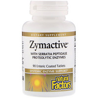 Zymactive, Systematic Enzyme Support, 90 Enteric Coated Tablets - фото