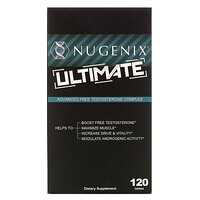 Ultimate, Advanced Free Testosterone Complex, 120 Tablets - фото