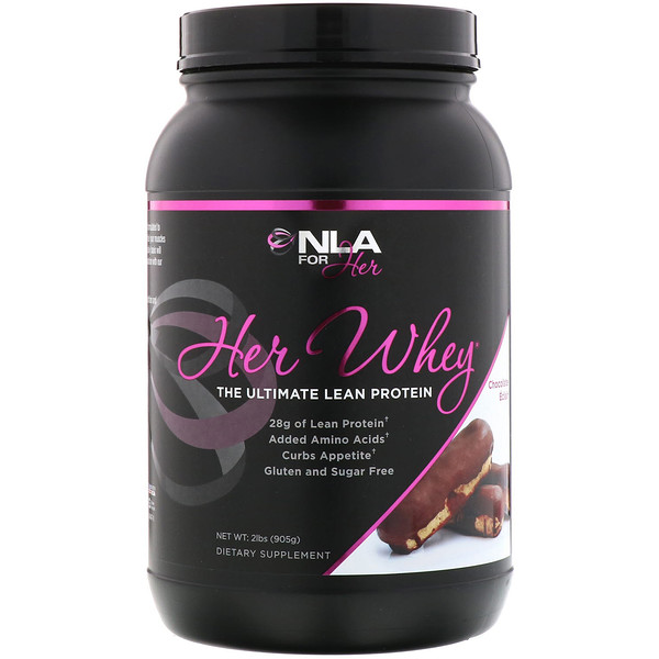 NLA for Her, Her Whey, The Ultimate Lean Protein, Chocolate Eclair, 2 lbs (905 g) (Discontinued Item)