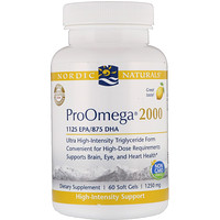 ProOmega 2000, Lemon, 1,250 mg, 60 Soft Gels - фото