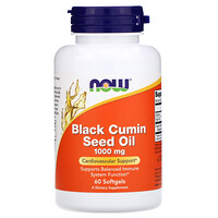 Black Cumin Seed Oil, 1,000 mg, 60 Softgels - фото