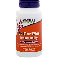 EpiCor Plus Immunity, 60 веганских капсул - фото