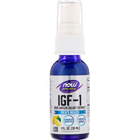 IGF-1, Deer Antler Velvet Extract, Lemon Flavor, 1 fl oz (30 ml) - фото