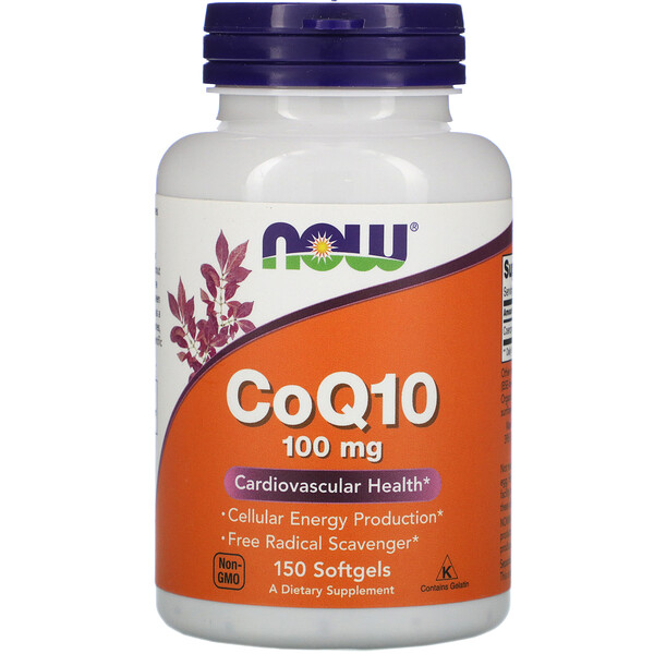 CoQ10, 100 mg, 150 Softgels