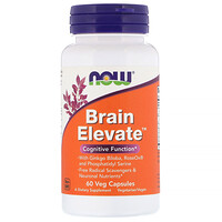 Brain Elevate, 60 Veg Capsules - фото
