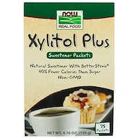 Xylitol Plus, 75 Packets, 4.76 oz (135 g) - фото