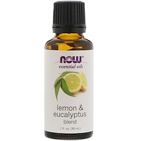Essential Oils, Lemon & Eucalyptus Blend, 1 fl oz (30 ml) - фото