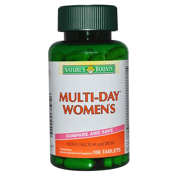 Nature's Bounty, Multi-Day Women's, 100 Tablets (Discontinued Item)