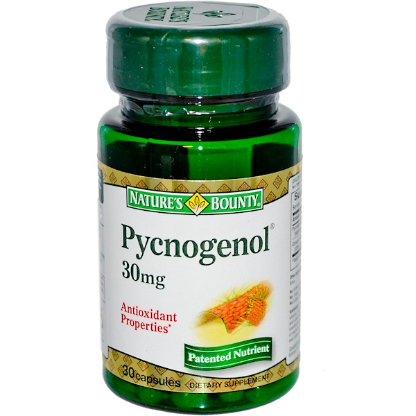 Nature's Bounty, Pycnogenol, 30 mg, 30 Capsules (Discontinued Item)