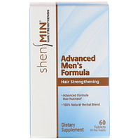 Shen Min, Advanced Men's Hair Strengthening Formula, 60 Tablets - фото