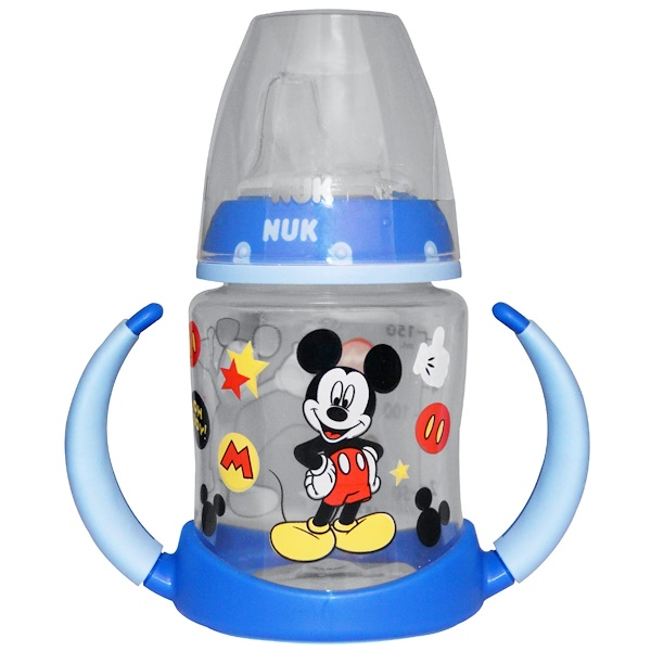 NUK, Mickey Mouse Learner Cup, 6+ Months, 1 Cup, 5 oz (150 ml) (Discontinued Item)