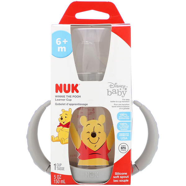 Disney Baby, Learner Cup, Winnie The Pooh, 6+ Months, 1 Cup, 5 oz (150 ml)