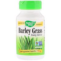 Barley Grass, Young Harvest, 500 mg, 100 Vegetarian Capsules - фото