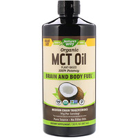 Organic MCT Oil, 30 fl oz (887 ml) - фото
